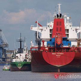 Wann kommen endlich wieder große Schiffe nach Bremen?