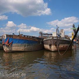 Alte KAB Schiffe im Getreidehafen