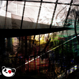 Daniela Birzer: Underground (Photographik auf Acryl/Alu)
