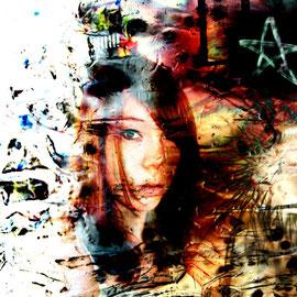 Daniela Birzer: Rausch (Photographik auf Acryl/Alu)