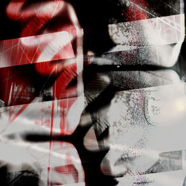 Daniela Birzer: Sin City (Photographik auf Acryl/Alu)