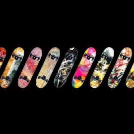 Jens Hirsch: Skateboards