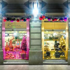 Konema escaparates Navidad, foto ©Llorenç Conejo