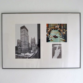 Antoni Muntadas, ARCHITEKTUR, RÄUME, GESTEN, 1991, c-photography, portfolio, © Antoni Muntadas.