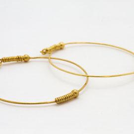 Boucles d'oreilles- bijoux minimalistes-bijoux fins-Céline Flageul