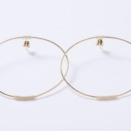 Boucles d'oreilles-Bijoux minimalistes-artisanat-Céline Flageul