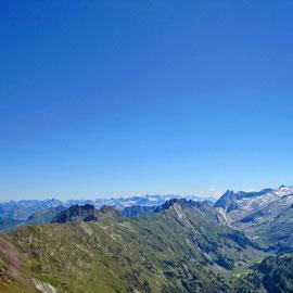 Blick vom Pic de Sauvegarde