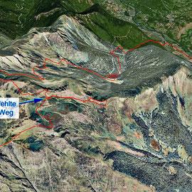 die Aufzeichnung des GPS auf Google Earth übertragen