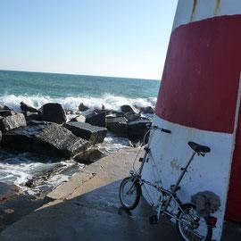 Mit dem Fahrrad zum Molenkopf