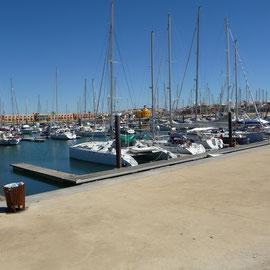 Unser Liegeplatz in der Marina von Portimao