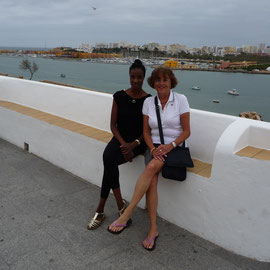 Josette und Kornelia in Feragudo