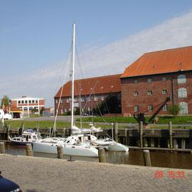 Der Stadthafen von Tönning