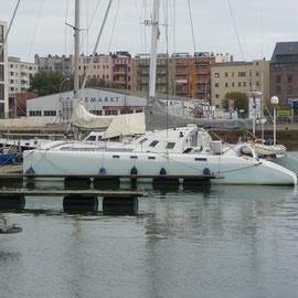 Die letzten Tage in der Stadt-Marina von Bremerhaven