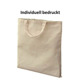 Stofftasche mit kurzen Henkel, individuell bedruckbar