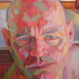 Podría darte un espejo.100 x 81 cm. Oleo sobre lienzo.