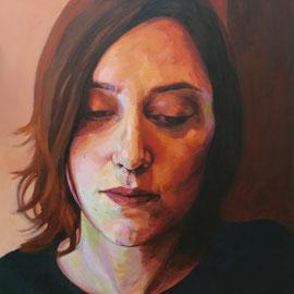 Bea. 73 x 92 cm. Acrylic on canvas.