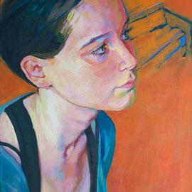 El Piano. 65 x 46 cm. Acrílico sobre lienzo.