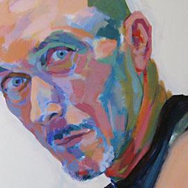 Miguel. Acrílico sobre lienzo .*