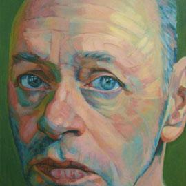 Hanjo Schmidt. 130 x 97 cm. Acrílico sobre lienzo.