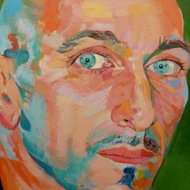 Miguel. Acrílico sobre lienzo.