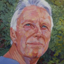Kurt. Acrylic on canvas