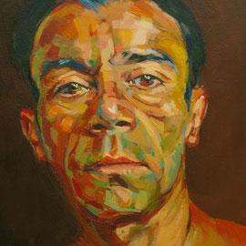 Gonzalo Berrueta . Acrílico sobre lienzo. 30 x 30 cm.