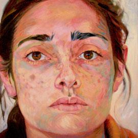Maria Xagorari. 145 x 115 cm. Oleo sobre lienzo.