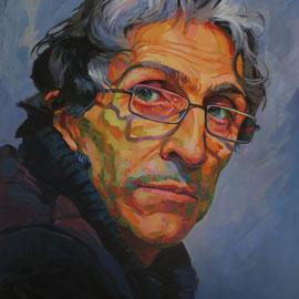 Antonio. 100 x 80 cm. Acrylic on canvas