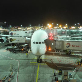 Erster Flug mit dem Typ A380