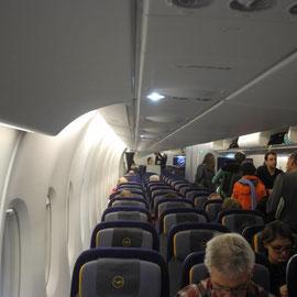 Platz für über 500 Passagiere