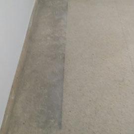 pulir y abrillantar terrazo (antes)