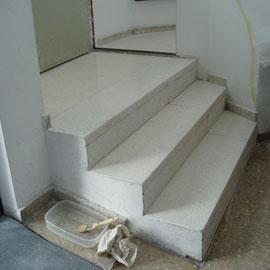 resultado abrillantado escaleras