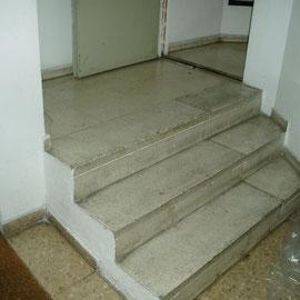 pulir y abrillantar escaleras
