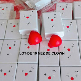 lot de 10 nez / set of 10 noses