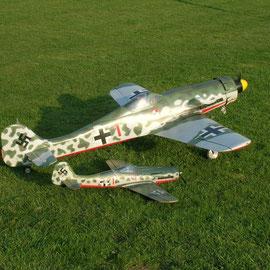 Mais n'a pu faire un vol à cause du vent plain travers et vraiment trop fort