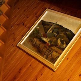 Le bout des bois - Herbeumont vu par le peintre G. Bosquet