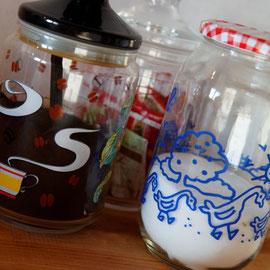 Du café, des pâtes, des épices, ... De quoi démarrer le séjour