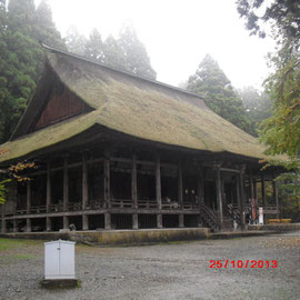 Main Hall, a nationally important cultural property 本堂(国重要文化財)