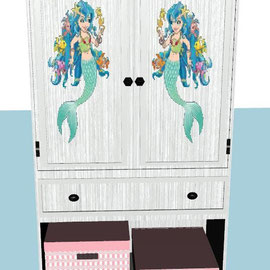 armoire fille