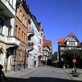 Der Marktplatz im Zentrum von Hannoversch Münden
