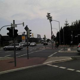 Volle Konzentration auf den Verkehr in großen Städten