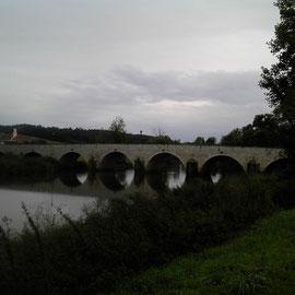 Alte Brücke in Wörnitzstein.