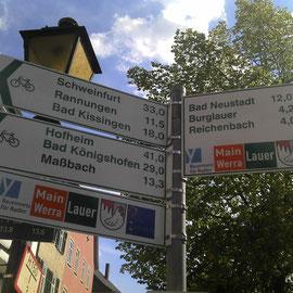 Viele Wege in der Rhön