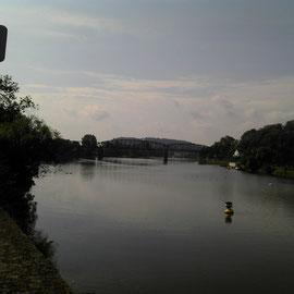 Ein Weserblick in Hameln