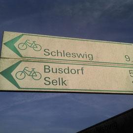 Nach Schleswig ist natürlich immer richtig
