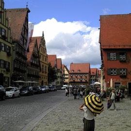 Dinkelsbühl an der Wörnitz.