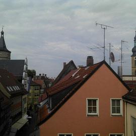 Über den Dächern von Kitzingen.