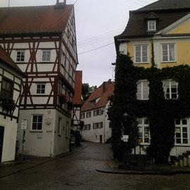 Harburg/Schwaben ist bekannt durch seine große Burganlage