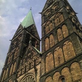 Und natürlich der Dom zu Bremen
