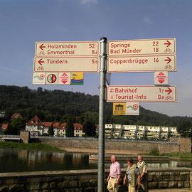 Schilder in Hameln